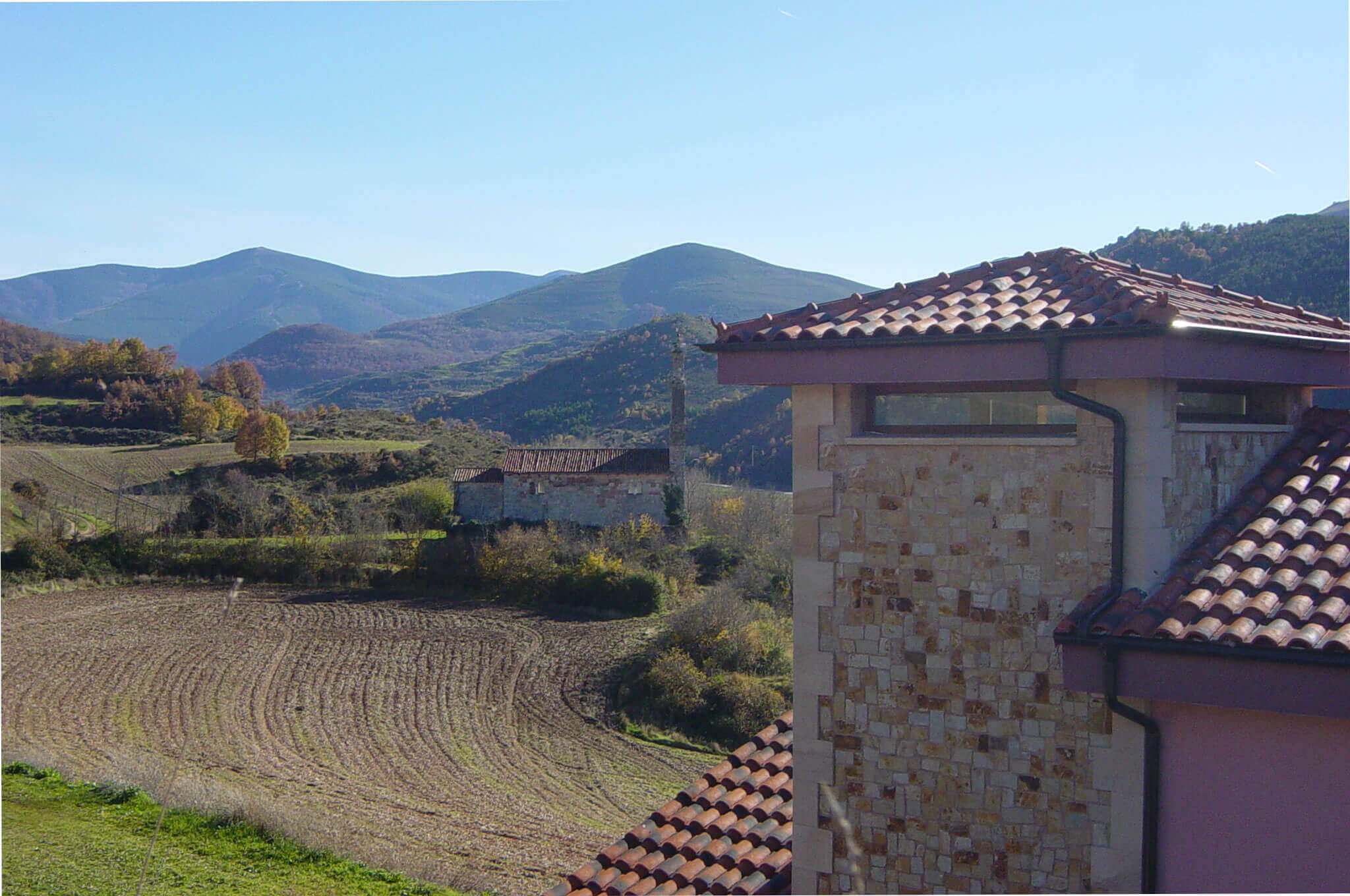 Countryside Villa Cottage for rent in North Spain near La Rioja wineries, villa Flavina